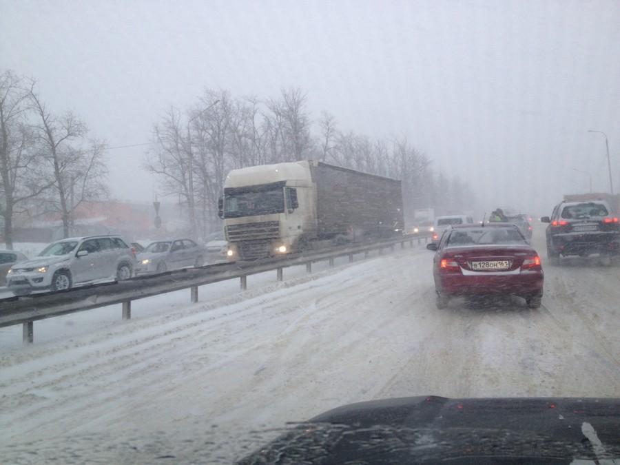 М4 Дон погода непогода метель снег Ростов Ростовская область 28.01.2014