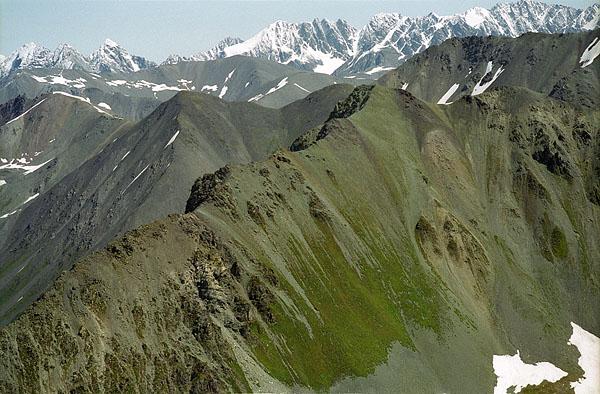 вид с обзорной горы 2800м