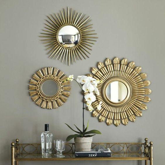 Зеркало-солнце: откуда взялось, где купить и куда повесить