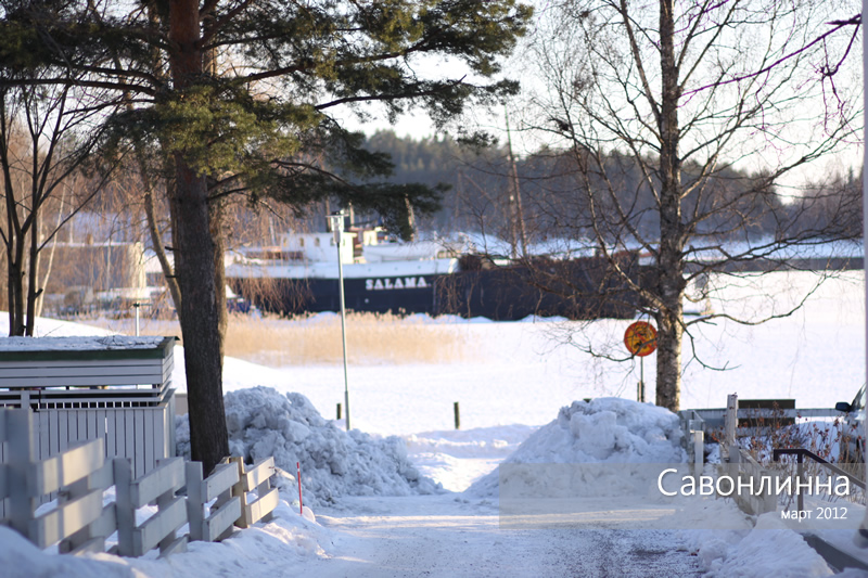 Savonlinna, 2012 March