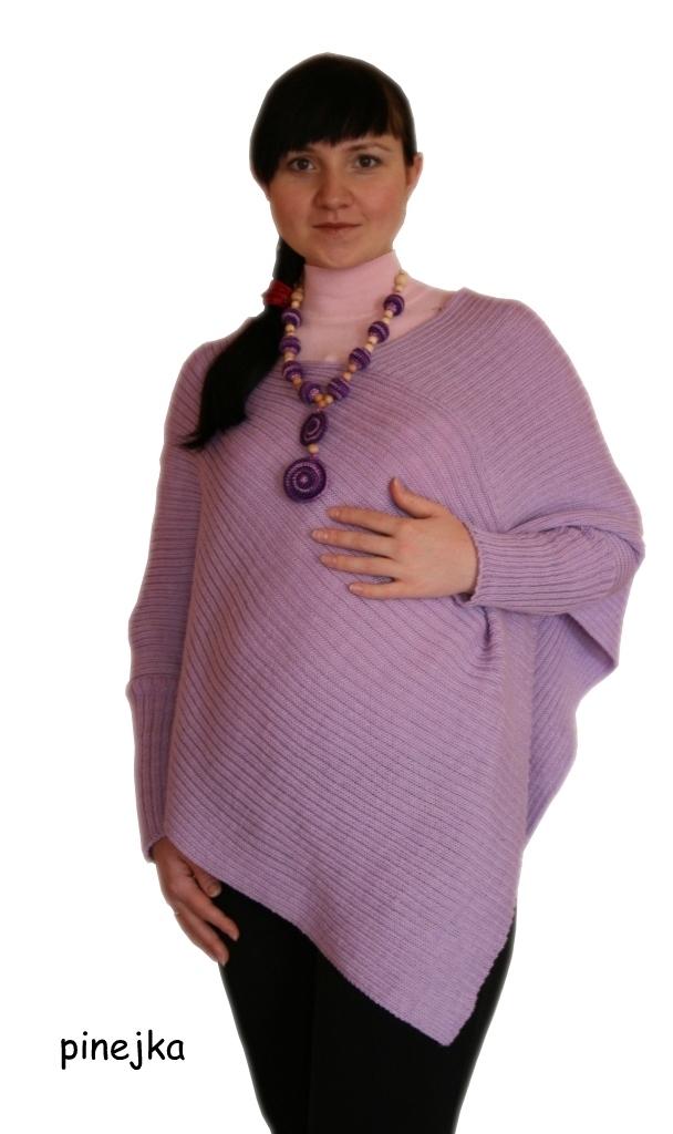 Пончо для беременных связать