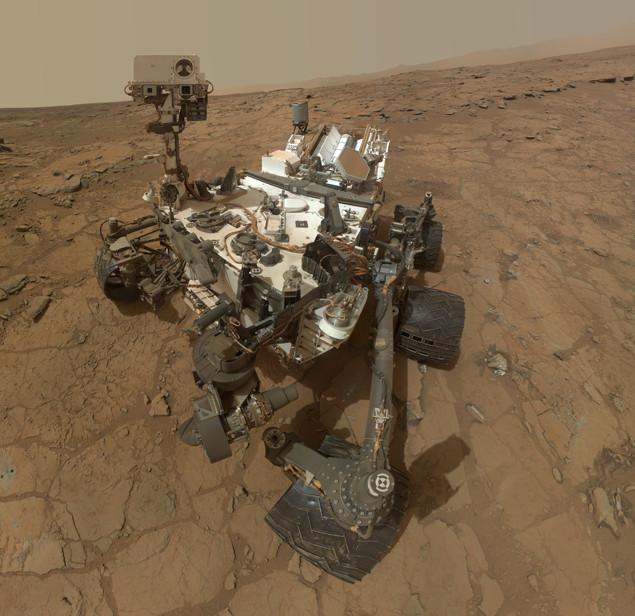 Марсоход Curiosity ремонтируют инопланетяне