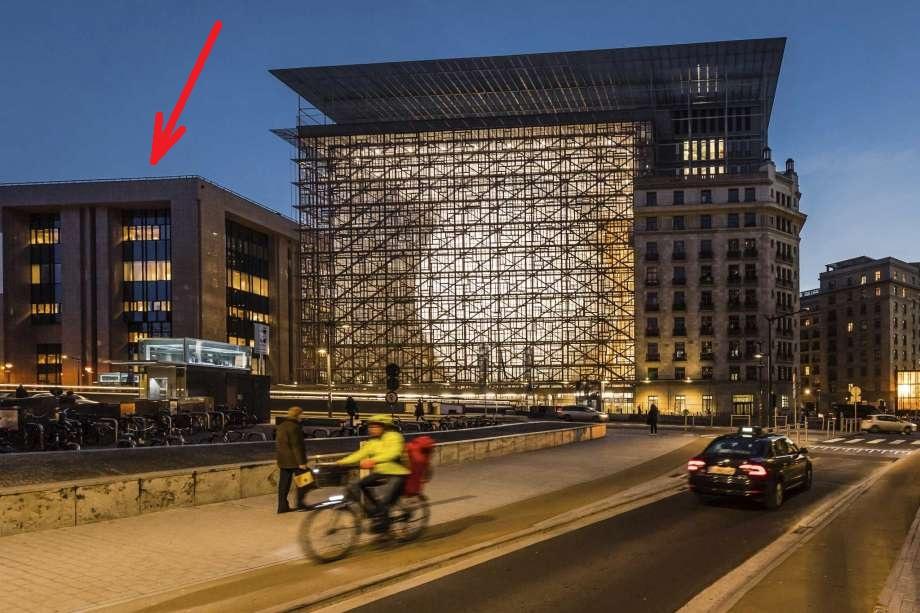 старое здание Совета министров Европейского союза