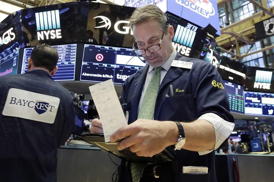 торги на  Wall Street