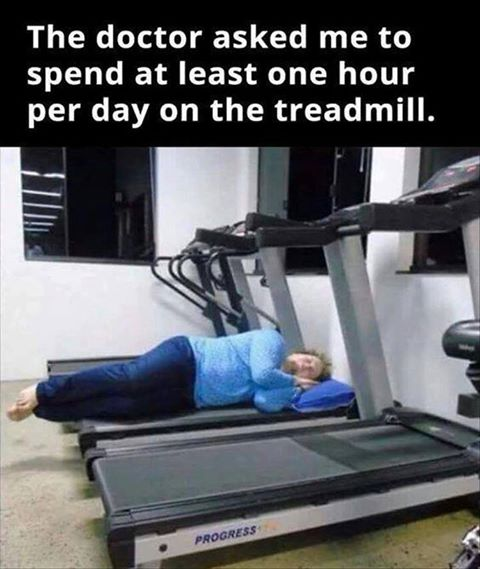 OneHourOnTreadmill