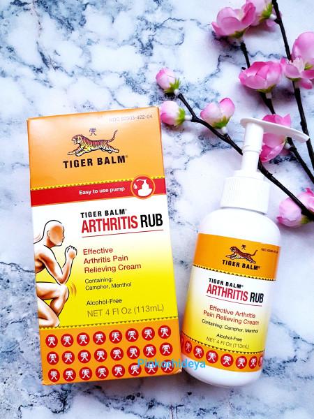 Крем-лосьон от болезней суставов Arthritis Rub от Tiger Balm!
