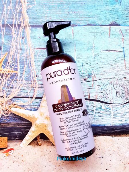 Кондиционер для волос нейтрализующий желтизну от Pura D*or!