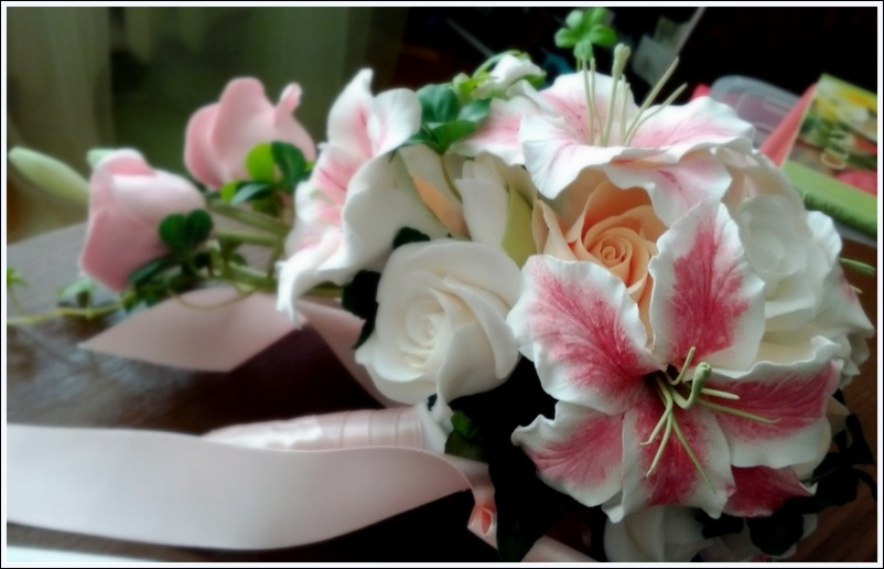 Как работать с оазисом для цветов? / Цветы, деревья / В рукоделии
