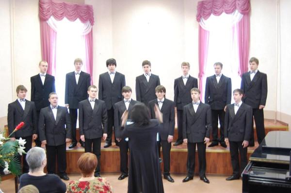 Сольный концерт Юношеской группы образцового хорового коллектива мальчиков и юношей Созвездие г.Киров