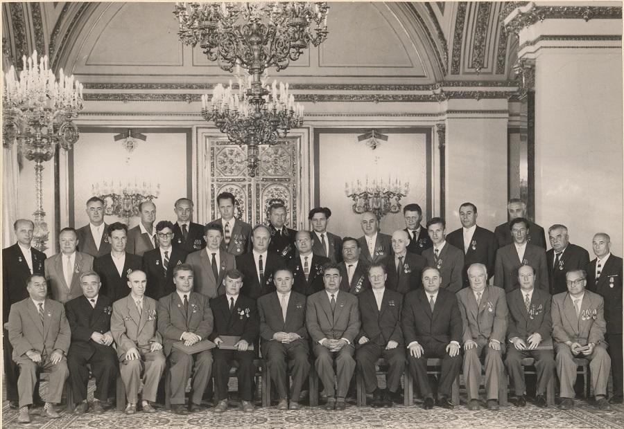 Награждение в Кремле 24 июня 1961 года
