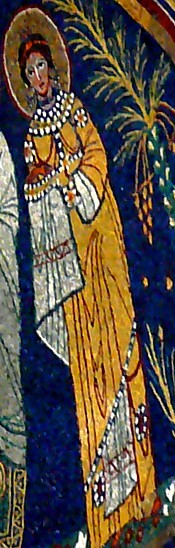 Cecilia - Trastevere mosaic