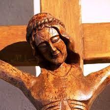 Crucifix souriant -Abbaye de Lerins