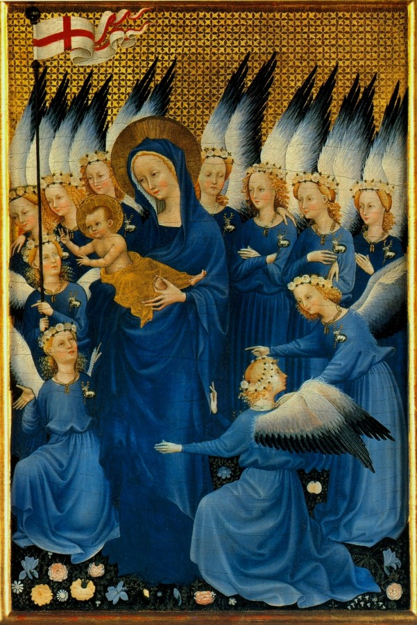 Wilton diptych right