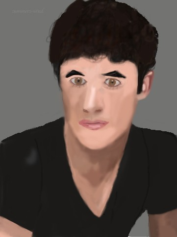 Darren Criss Photoshop Painting