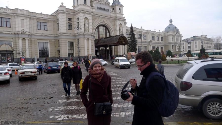 Украина, Львов, Марина и Миша