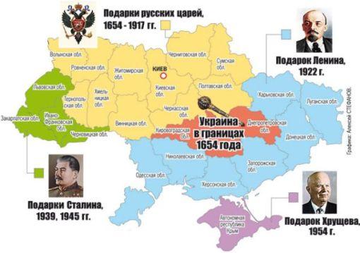 UKRAINE_Agrandissement.Historique