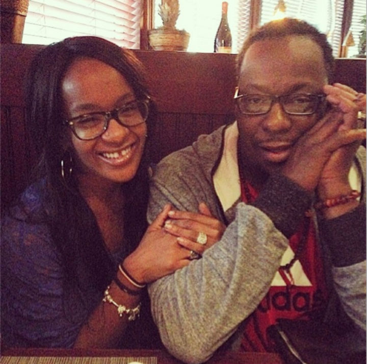 Bobby-Brown-and-Bobbi-Kristina-on-Fathers-Day