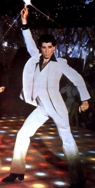 John Travolta disco pose