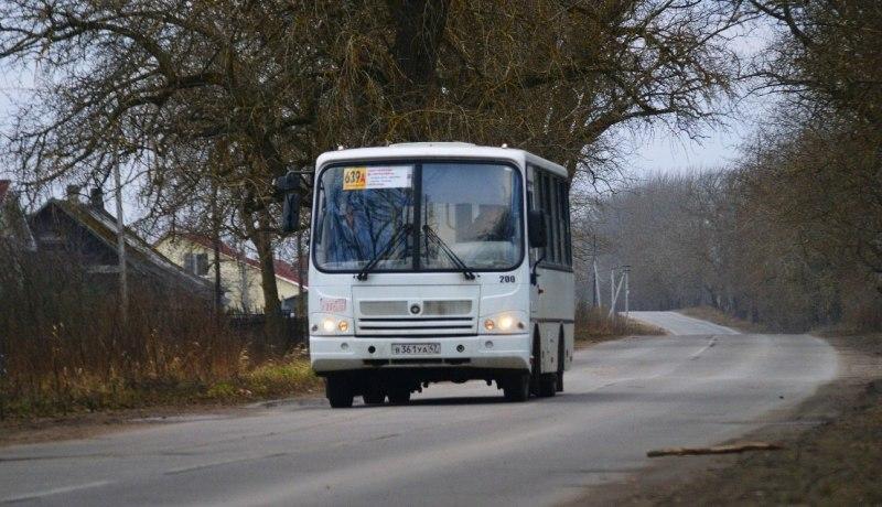 ПАЗ-3204-02 компании АТП-31 на маршруте 639а