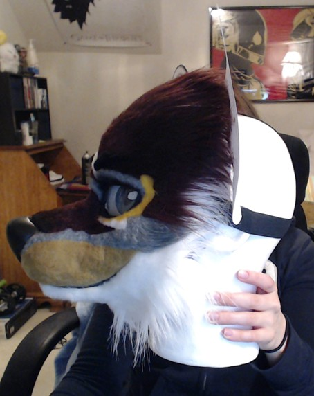 Attaching Ears To A Resin Based Fursuit Head How Do You