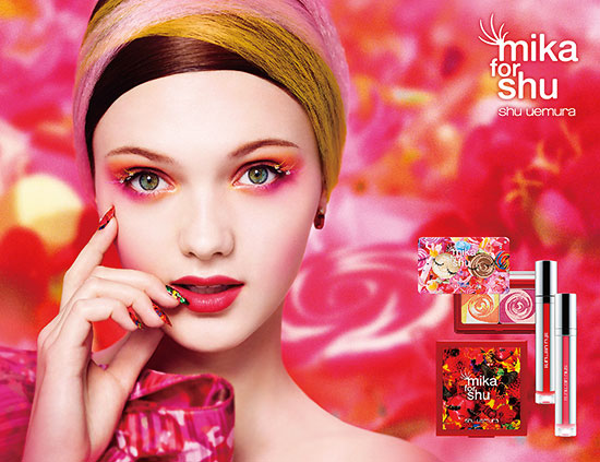 mika-for-shu-uemura-spring-2014-collection