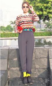 укороченные брюки short pants (2)