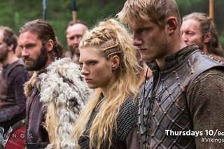 Прически викинги сериал