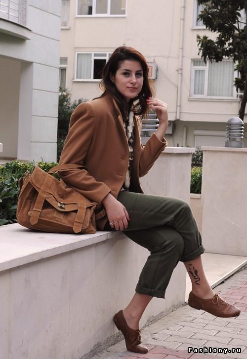 конечно, происходит с чем носить коричневые ботинки женские фото пошаговые