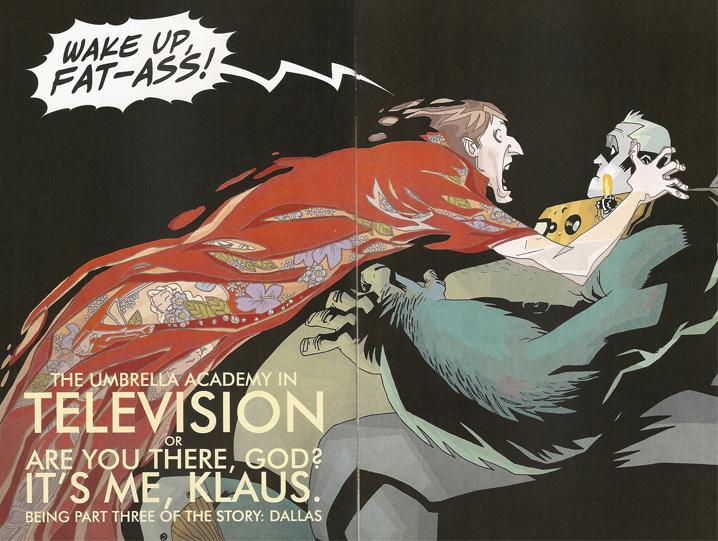 Umbrella Academy Series 2 Issue #3 by Gerard Way & Gabriel Bá