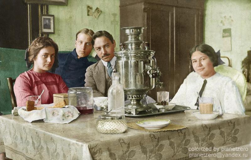 Чаепитие 1907