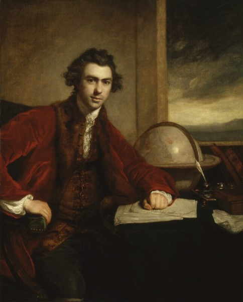 2 Sir Joseph Banks, Bt, by Sir Joshua Reynolds, 1771-1773.jpg
