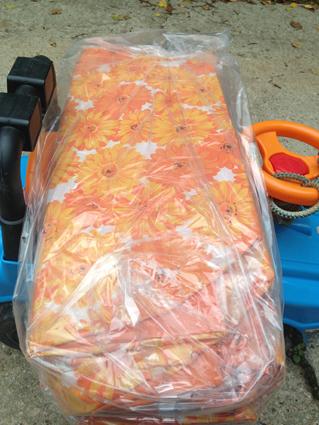Пляжн сумка оранжевая