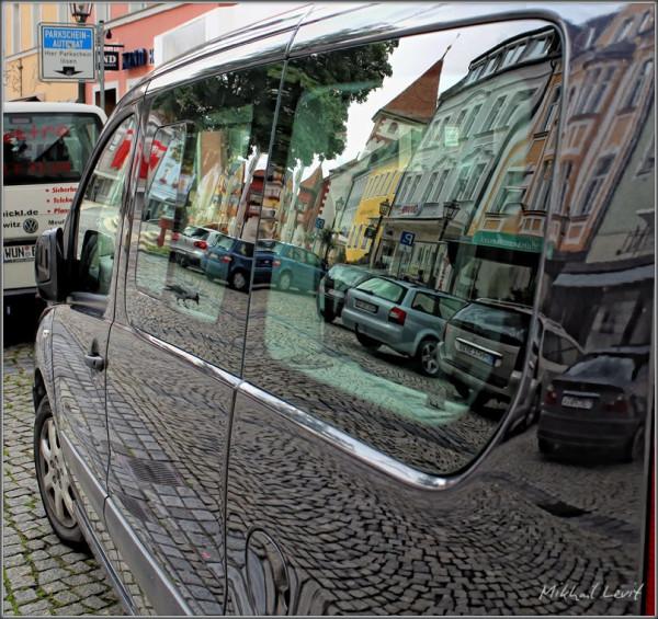 Машины отражение
