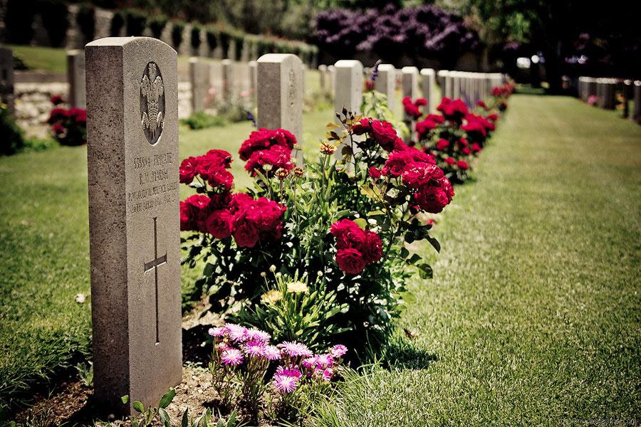 Британское военное кладбище в Иерусалиме