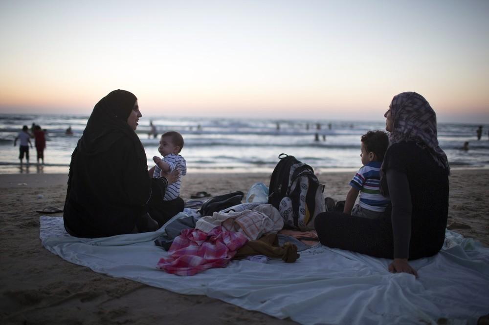 Окончание Рамадана на пляже