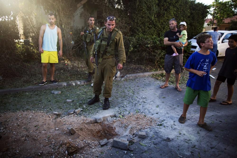 Террористы обстреляли Израиль ракетами