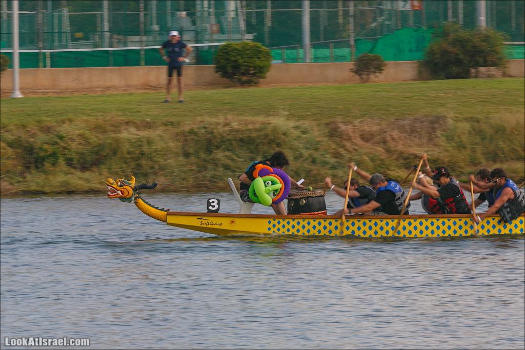 гоночная лодка на одного гребца