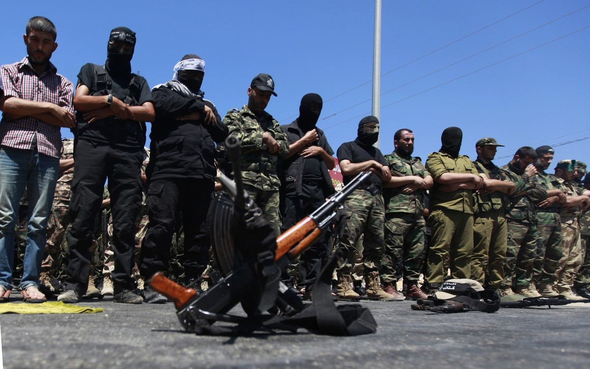 Протест против мира в Секторе Газа