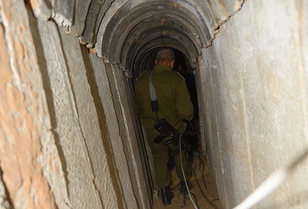 Туннель, ведущий из Газы