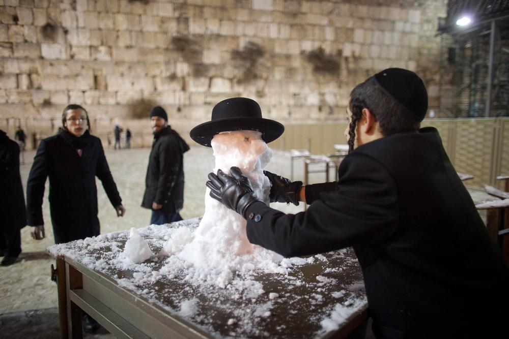 Снег в Израиле