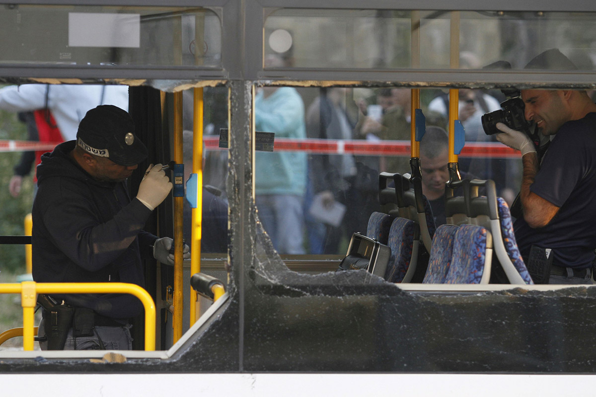 Взрыв в автобусе в Бат-Яме