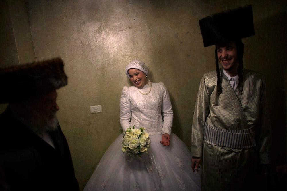 Свадьба ортодоксальных евреев