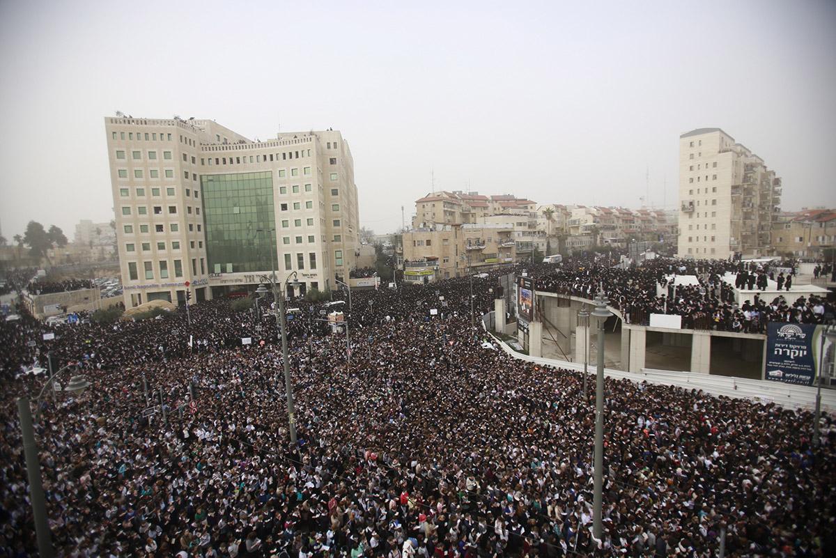 Массовая молитва в Иерусалиме