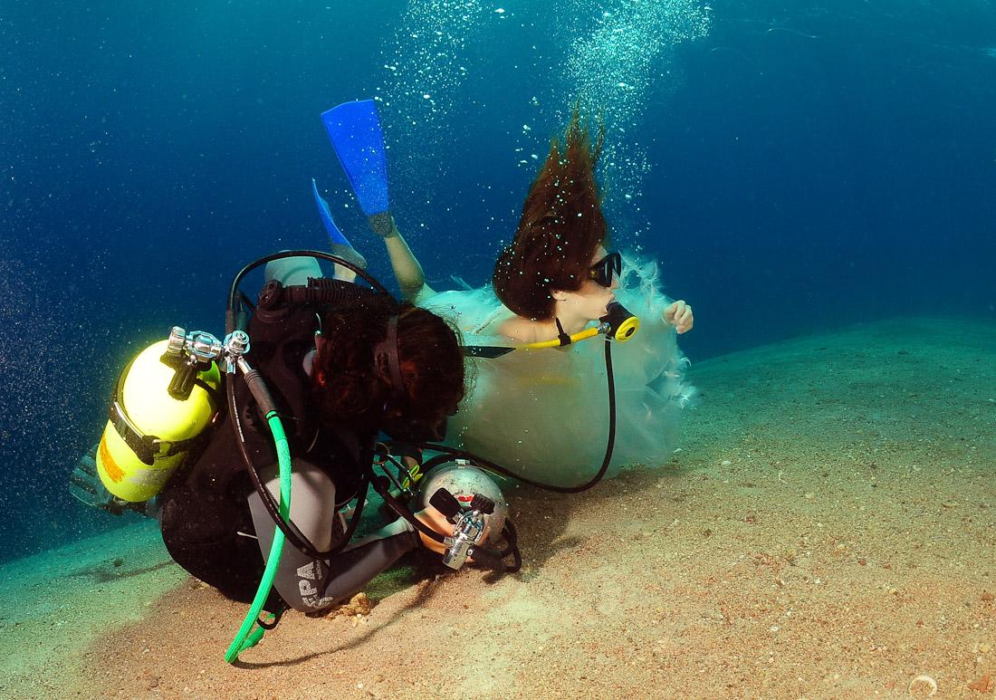 Чем делать фото под водой