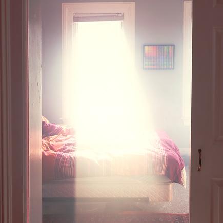 Как сделать чтобы солнце в окнах
