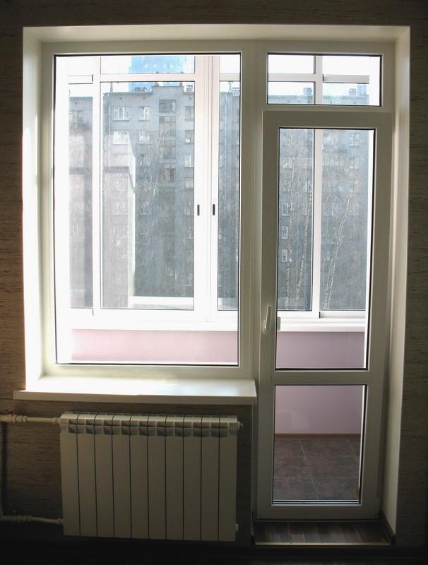 Большие балконные двери фото. - Мои статьи - Каталог статей - Утепление и остекление балконов