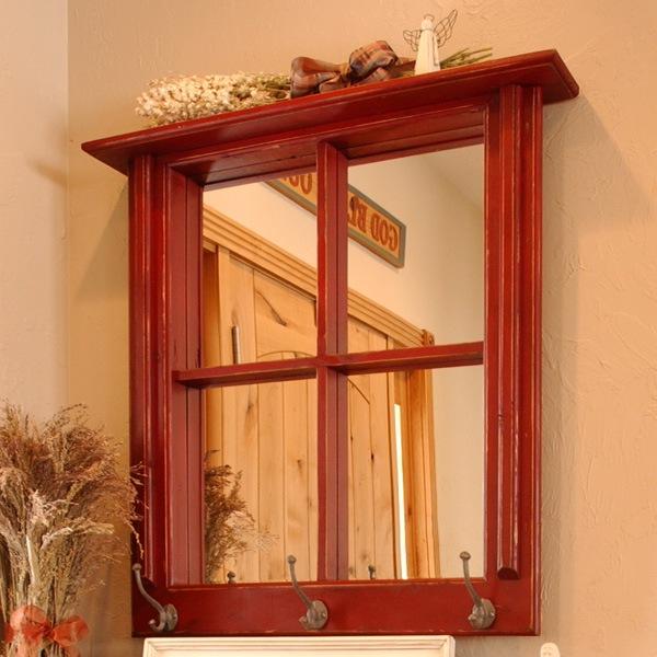 Зеркало-окно для прихожей - слегка раздвинет границы и оживит маленькую прихожую