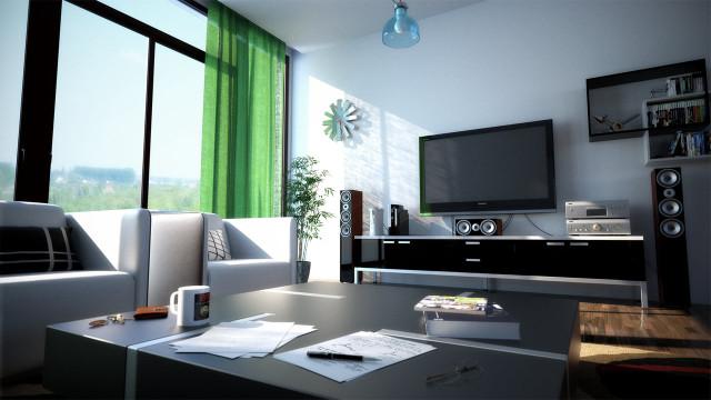 Использование и специфика черных пластиковых окон в интерьере