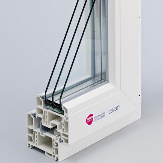 Пластиковые окна REHAU GENEO 1