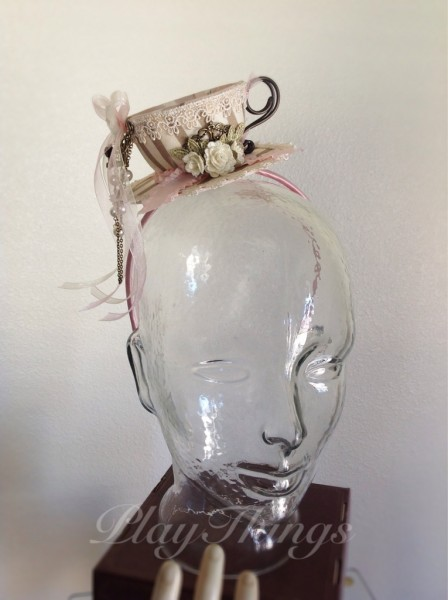 The Seamstress' Daughter tea cup hat